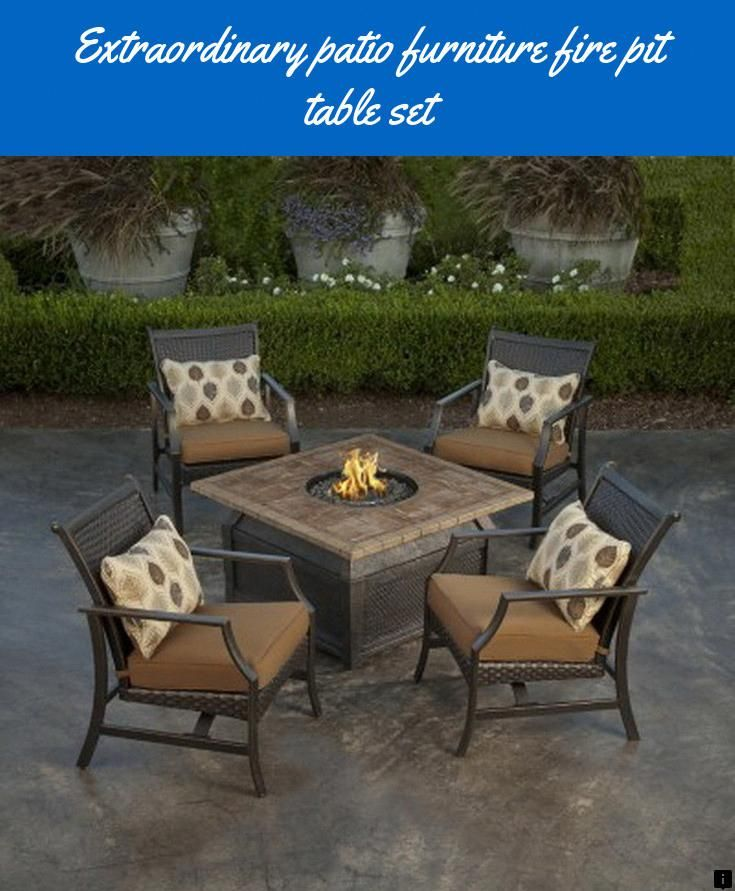 discover more about patio furniture fire pit table set please click rh pinterest ca