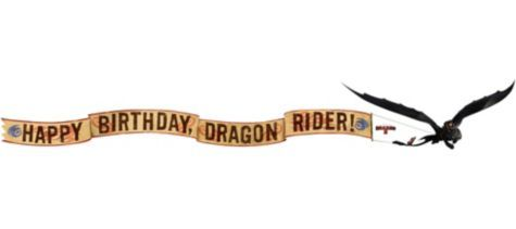 How To Train Your Dragon Room Decorating Kit