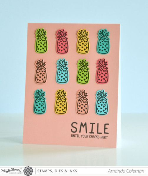 Pineapples Card