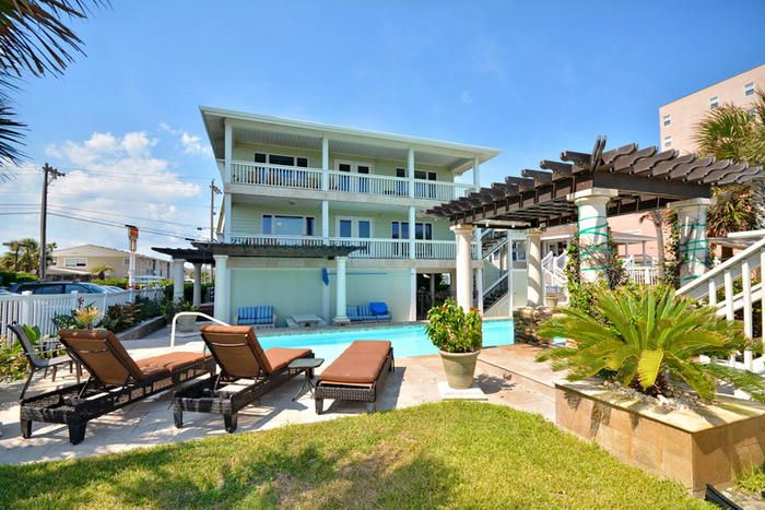 Aero Club is an oceanfront beach house rental in the Cherry Grove Section of North Myrtle Beach, SC.  Elliott Beach Rentals has specialized in professional management of beach homes and condos since 1959.