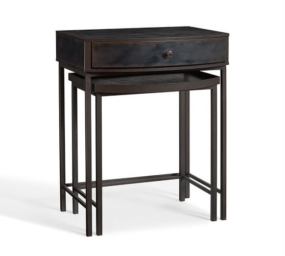 Pottery Barn Woodrow Nesting Table: 302 Best Images About FixerUpper3.4Magnolia House B&B On