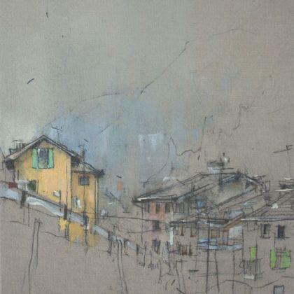 Nathan Ford Baselga 2, Oil on canvas 28 x 20 cm