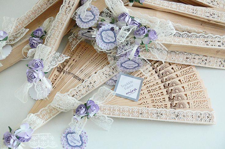 Yelpaze nikah şekeri - mirabonbon / Nikah şekerleri - nişan şekerleri - Wedding…