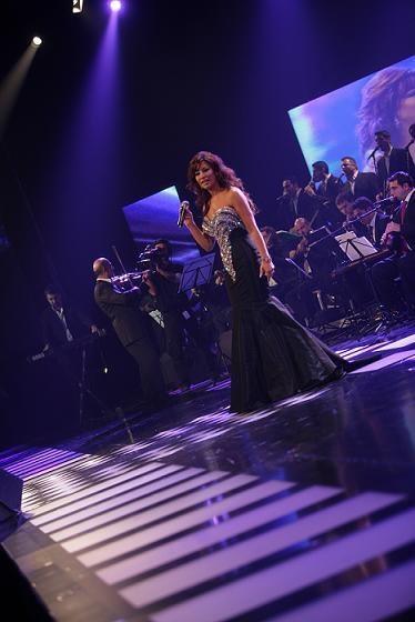 Najwa Karam by TONY YAACOUB #fashion #dress #design #celebrities #lebanon #lebanese #gown #black