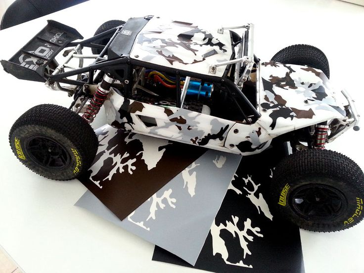 Details About Tarnfolie Camouflage For Axial Wraith Or