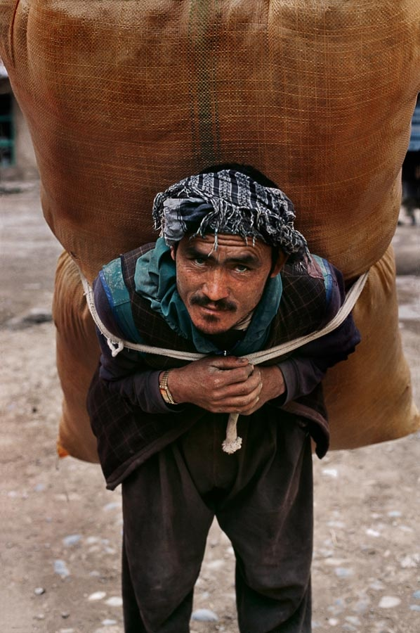 Man, Afghanistan, by Steve McCurry.
