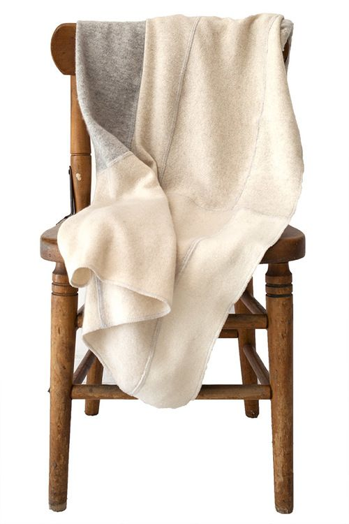 recycled cashmere baby blankets