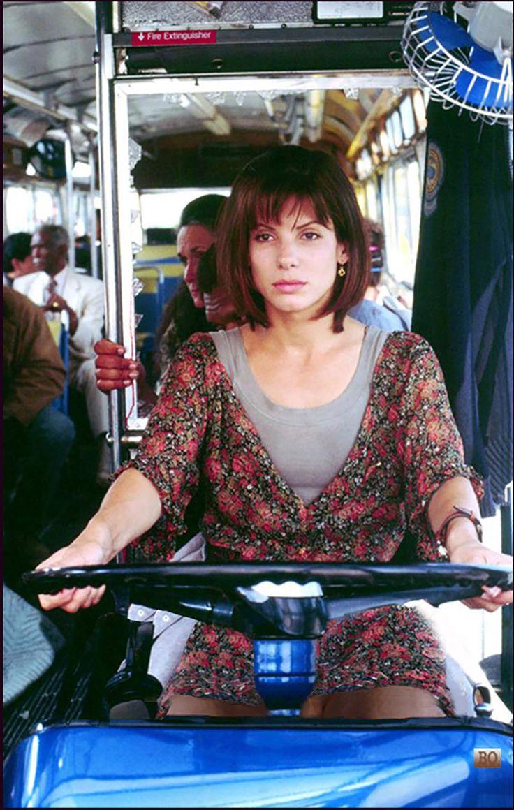 Sandra Bullock driving bus - Speed 1994 https://www.pinterest.com/hunt6416/sandra-bullock-legs-upsk/
