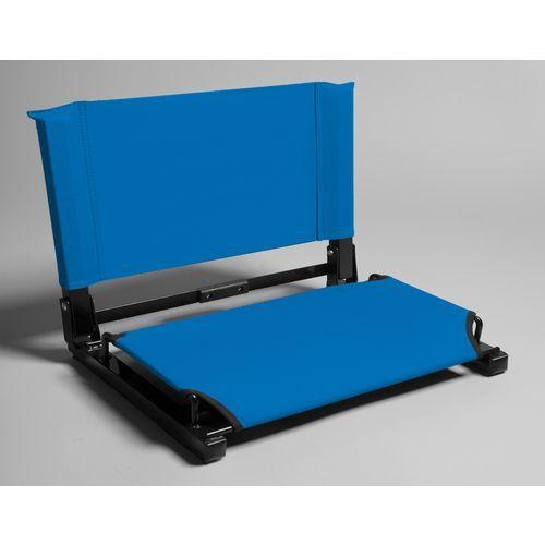 StadiumChair Wide Deluxe Stadium Chair Blue Medium - Football Equipment, Football Equipment at Academy Sports