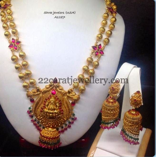 Jewellery Designs: Temple Jewellery by Shree Jewellers