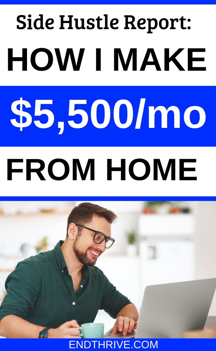 Side Hustle Report: How I Made $5,500 From Home