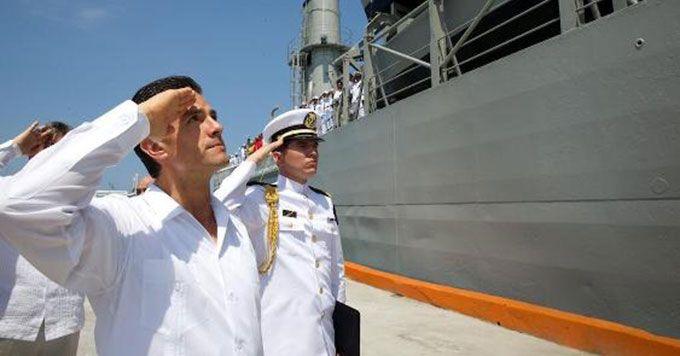 Anuncia Peña modernización de flota marítima Mas informacion: http://u.to/6MfDBw