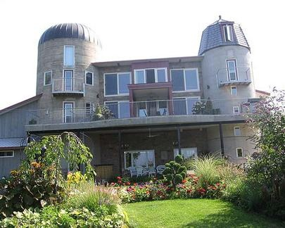 The Silo House In Goderich And Its For Sale HouseBarn HomesBarn Houses