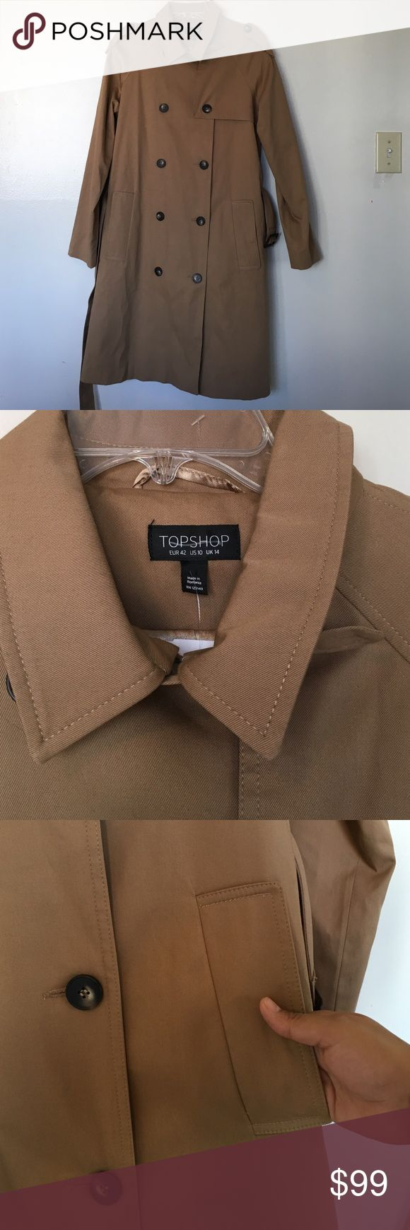 Topshop Tren Jacket Size 10 NWOT 😍 No trade 🚫 No model 💃🏻 Topshop Jackets & Coats Trench Coats
