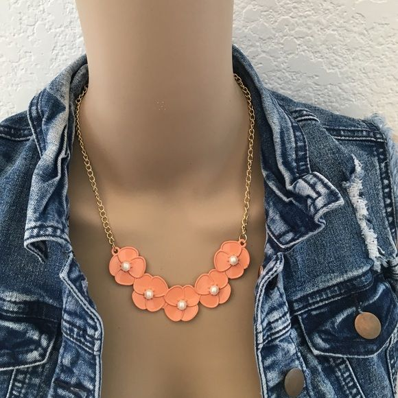 ‼️3for$20‼️  Dainty Peach necklace Brand new necklace (in packaging, never worn). Offers considered // Ask me how to bundle and save // Or, Poshmark bundling is set up to save you a percentage on bundling ❗️Only one available❗️Any questions, please ask  Jewelry Necklaces