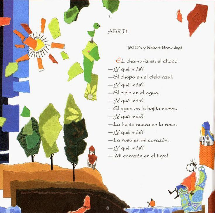 Poesia Infantil i Juvenil: Juan Ramón Jiménez para niños y niñas y otros seres curiosos: llibre de poesia infantil i dos poemes del mes d'abril