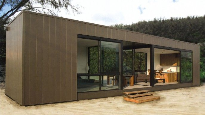 Ideas Modern Brown Prefab Homes For Sale That Has Brown Dominated Color Can Add…