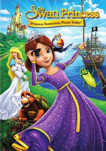Swan Princess: The Princess Tomorrow, Pirate Today for Rent, & Other New Releases on DVD at Redbox