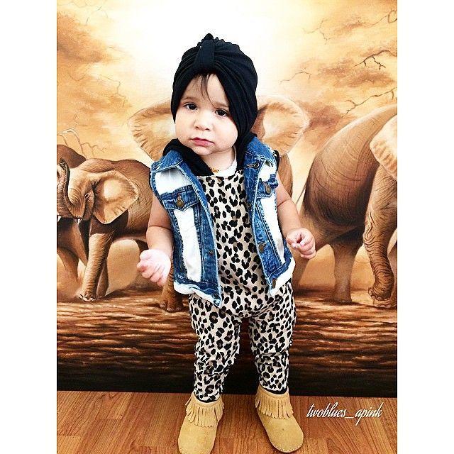 Leopard romper by Little Trojan Children Clothing  www.littletrojan.com