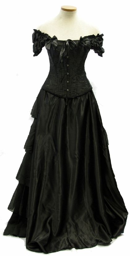 The Original Mourning Belle Set
