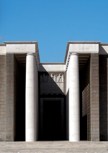 Ingresso del Museo della Civiltà Romana