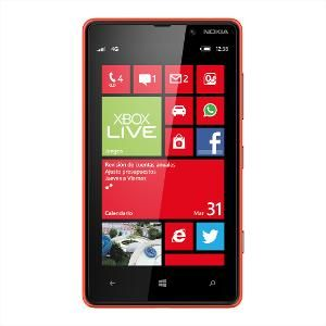 Nokia Lumia 820 Mobile Phone - Red