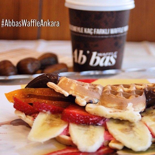 Waffle ve Kahve Waffle Coffee Abbas Waffle Ankara