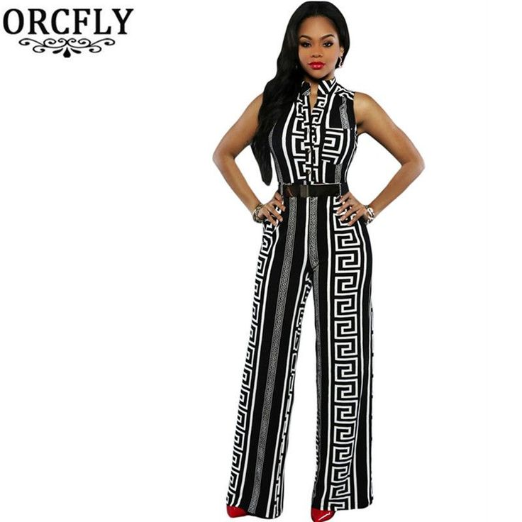Now available on our store:  Long Jumpsuits Fo... Check it out here ! http://mamirsexpress.com/products/long-jumpsuits-for-women-print-gold-belted-rompers?utm_campaign=social_autopilot&utm_source=pin&utm_medium=pin