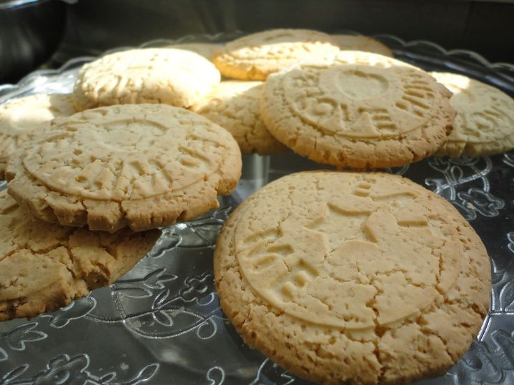 Cooked With Love: Home-made maïzena-koekjes