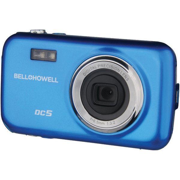 Bell+Howell DC5-BL 5.0-Megapixel Fun-Flix Kids Digital Camera (Blue)