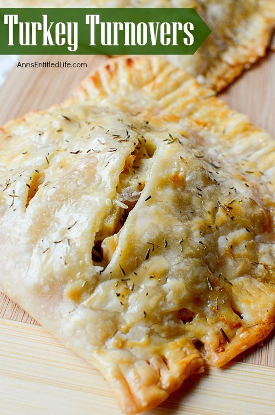 Turkey Turnover Recipe. Leftover turkey never tasted so good! Make great use of…