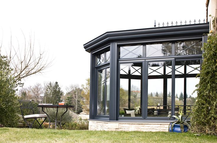 #veranda #conceptalu gamme #ARMONIA - #jardin #maison #integration