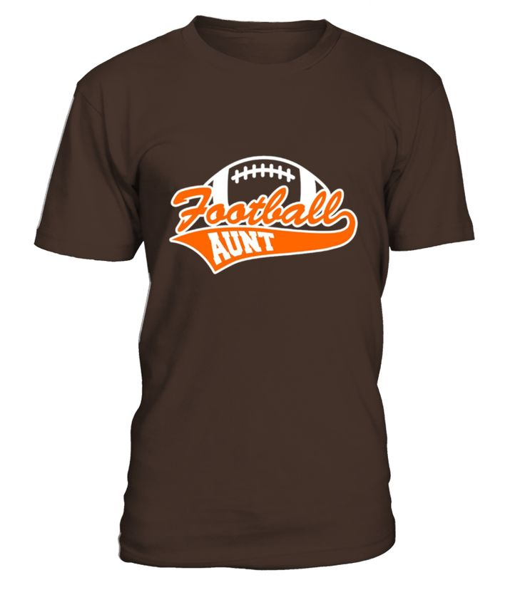 Football Aunt T-shirt - Football Lover - Gift For Aunt