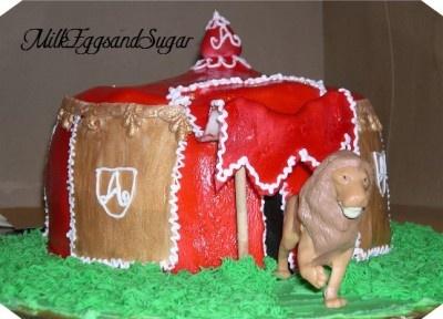 Narnia Birthday Cake