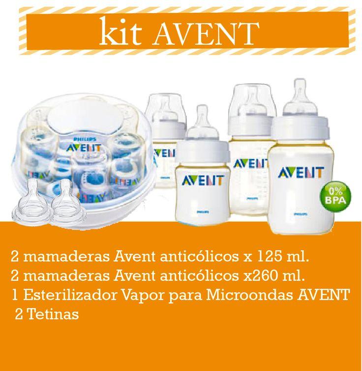 Kit Avent — Enpañales.com.ar