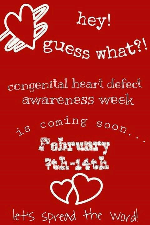 CHD's affect 1 in 100    Congenital heart defect awareness #CHD awareness for Brylee <3  Www.Facebook.com/bryleesbravebattle