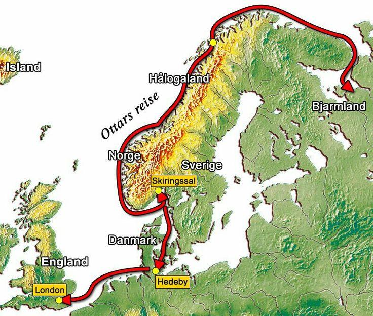 Ottar fra Hålogaland. Sjøfareren og handelsmannen Ottar er kanskje den mest kjente historiske representanten fra Hålogaland. Han seilte fra Hålogaland til England rundt år 890, hvor den engelske kongen Alfred den store fikk skrevet ned hans beretning om Hålogaland og om en ferd langs kysten til Kvitsjøen. Beretningen ble føyd inn i kong Alfreds oversettelse av Orosius' verdenshistorie