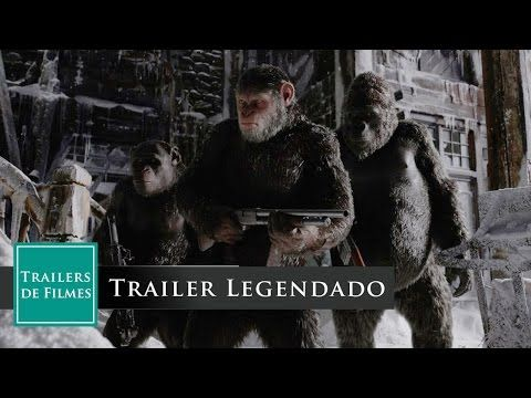 Planeta dos Macacos A Guerra - Trailer 2 (War For The Planet Of The Apes...