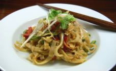 Satay Noodles Recipe - 20 minute dinners