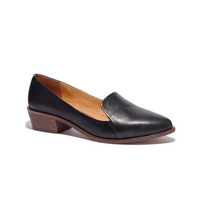 The Stacked-Heel Loafer