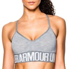 Under Armour Women's Armour Seamless Stripe Sports Bra w/Cups - Dick's Sporting Goods