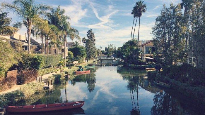 10 dingen die je moét doen in Los Angeles – Bakboord @ Venice Canal Walkway