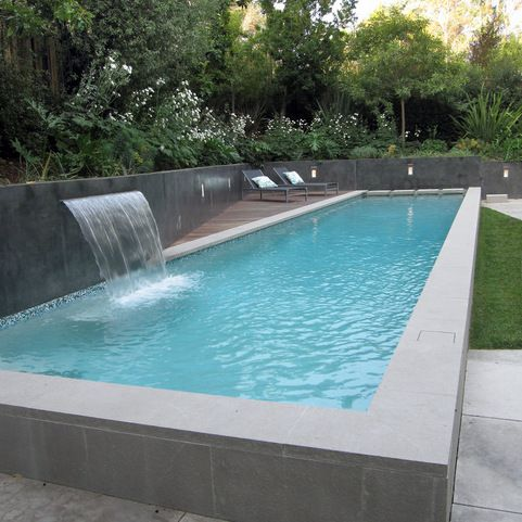 Pool Partial Above Ground Design Ideas, Pictures, Remodel and Decor