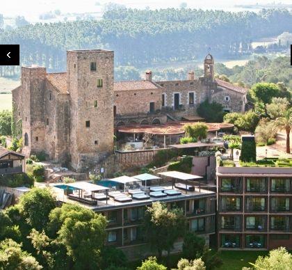 Castel Emporda in Costa Brava, it the most beautiful castel for weddings.