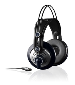 K 141 MK II  Professional hi-fi stereo studio headphones  Semi-open supraaural earphones  Self-adjusting headband for optimum fit  Patented Varimotion speakers  Undistorted sound even at high volume levels  Leatherette ear pads and velvet ear pads  Single-sided, detachable 3 m cable and additional 5 m coiled cable