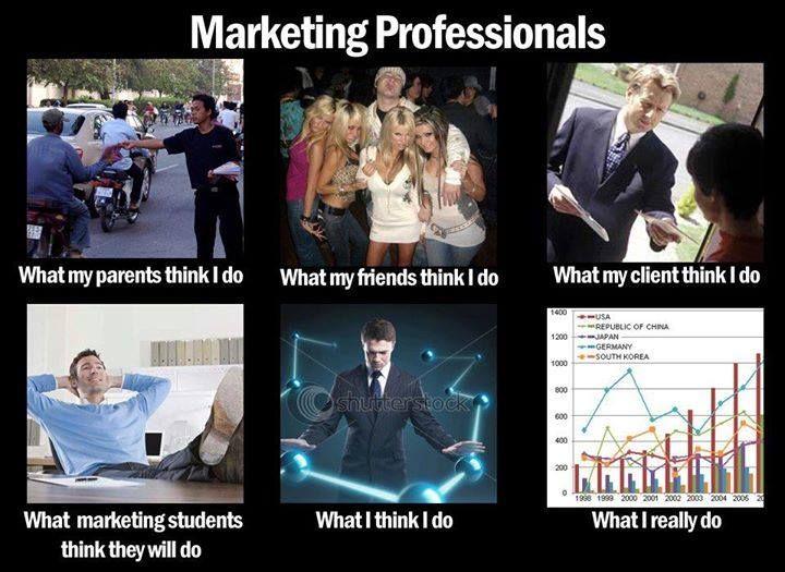 Marketing professionals