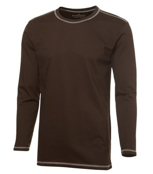 long sleeve contrast stitch t-shirt: for more information or pricing please email info@roadgearsports.com