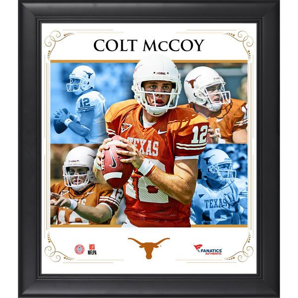 "Colt McCoy Texas Longhorns Fanatics Authentic Framed 15"" x 17"" Core Composite Photograph - $49.99"