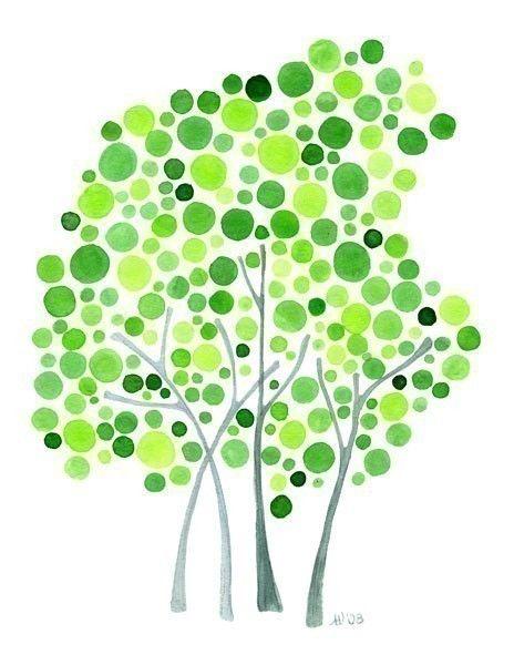 Best 25+ Watercolor trees ideas on Pinterest