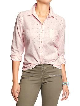 Womens Oxford Shirts